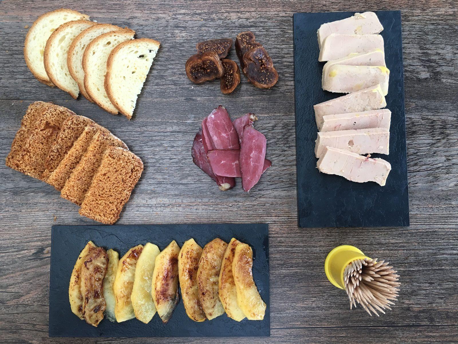 Club Sandwich au foie gras et à la pomme (en vidéo)