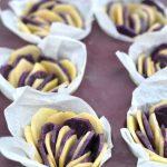 Fleurs de pommes de terre bicolores