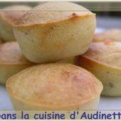 Bouchées apéritives au roquefort - Dans la cuisine d'Audinette
