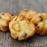 Muffins aux pommes et aux pépites de chocolat