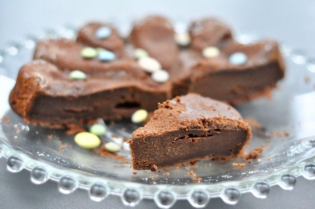 Fondant au chocolat à la crème fraîche