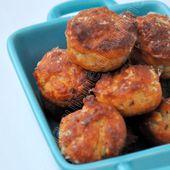 Bouchées parmesan et pignon - Dans la cuisine d'Audinette