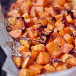 Dés de patate douce aux épices cajun