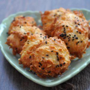 Biscuits apéro aux trois fromages (avec des blancs d'oeuf)
