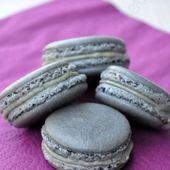 Macarons au réglisse - Dans la cuisine d'Audinette