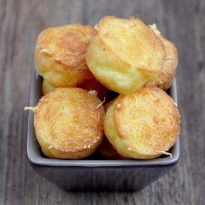 Bouchées apéritives aux trois fromages