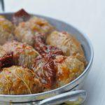 Paupiettes de veau aux tomates confites en cocotte