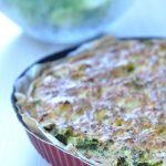 Tarte au chou-fleur, brocoli et pâte de curry