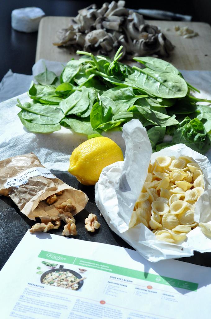 ingrédients kitchen daily