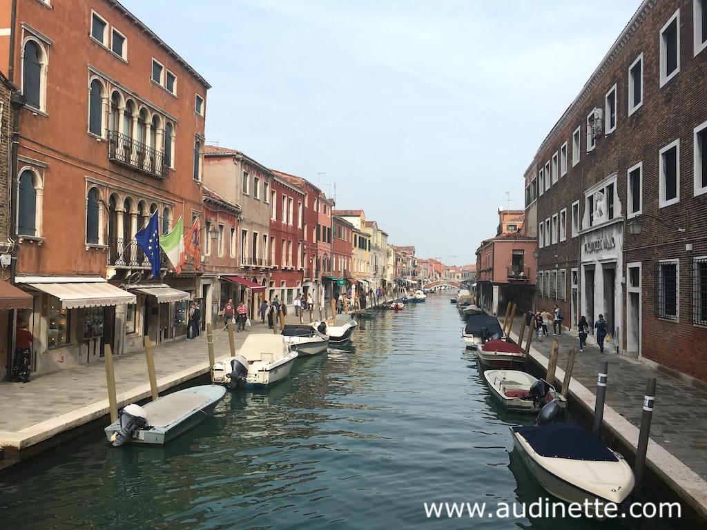 un canal à Murano