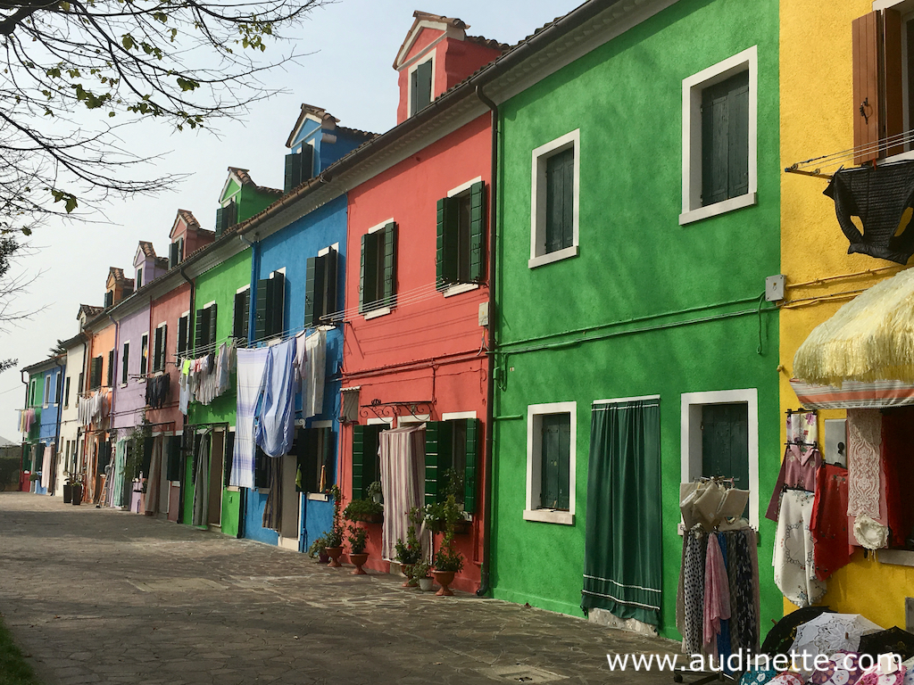 Burano et ses maisons en couleur