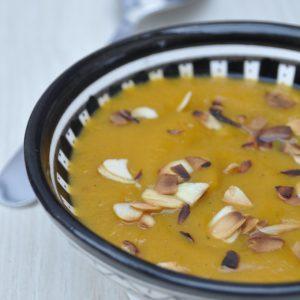 Velouté de butternut aux épices marocaines