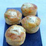 Mini muffins salés sans gluten courgette et fêta