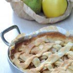 Tarte rustique pommes et poires